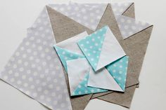 quickie way to make half square triangles :o) math, quilting tutorials, triangle quilts, half square triangles, quilt blocks, halfsquar triangl, triangl tutori, quilt tutorials, hst tutori