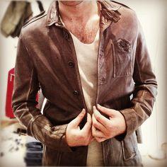 Diesel leather jacket  http://www.diesel.com/male