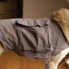 Upcycled Doggy Cooling Vest / Backpack (made from cargo pants)