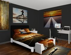 vision wall murals on pinterest wall murals bed sheets. Black Bedroom Furniture Sets. Home Design Ideas