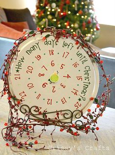 holiday, pizza pan, countdown, crissi craft, advent calendars, pizzas, christmas, christma craft, crafts