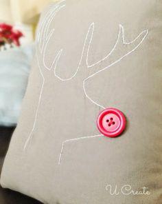 "Free Stitchable: ""Winter Reindeer"" pattern"