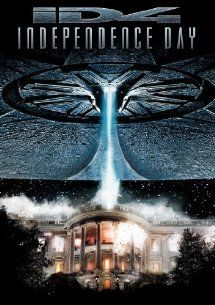 Independence Day (1996) with Bill Pullman, Will Smith and Jeff Goldblum. (Image from Amazon)