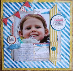 Scrapbooking Spunk. Who has it? | AWW by Cathy Caines  @Coral Hinz' Up!