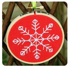 Simple christmas embroidery patterns - free