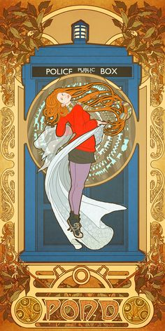 Art Nouveau Doctor Who.
