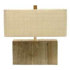 driftwood lamp...love