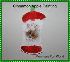 Momma's Fun World: Cinnamon Apple Painting