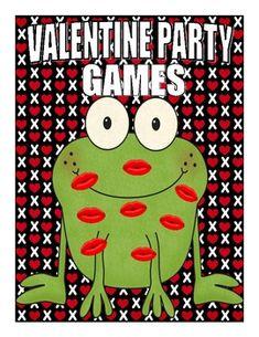 kiss, party games, idea, frog, parties