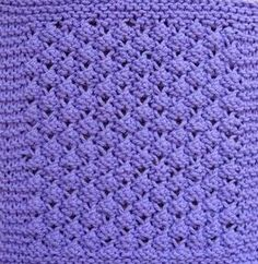 ~Blackberries Knitted Dishcloth