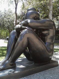 Woman, sculpture
