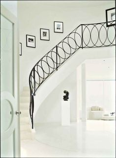white room grand staircase