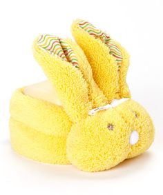 Loving this Yellow Boo Bunnie Ice Pack on #zulily! #zulilyfinds