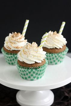 Irish Coffee Cupcakes #StPattysDay
