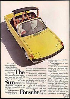The Sun Porsche porsch 914, car ad