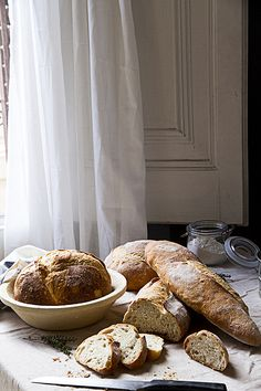 bread made with sourdough