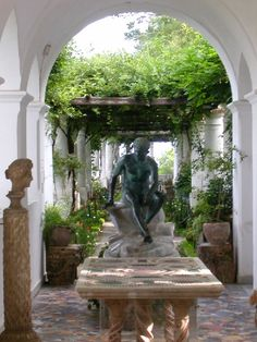 Villa San Michele, Anacapri, Italy - ahhh, a beautiful, beautiful country!