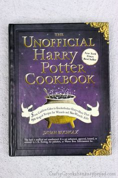 Bookishness: The Unofficial Harry Potter Cookbook
