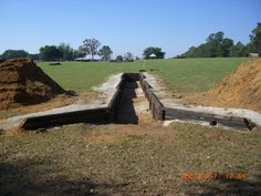 Private farm, practice ditch. Ocala FL