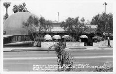 The Brown Derby Restaurant (side view), 3427 Wilshire Boulevard, Los Angeles, CA, 1937