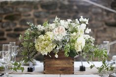 pretty centerpiece for outdoor functions