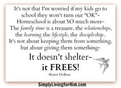 The Gift of Homeschool | Bible Based Homeschooling