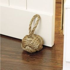 Rope Knot Doorstop #countrystyle