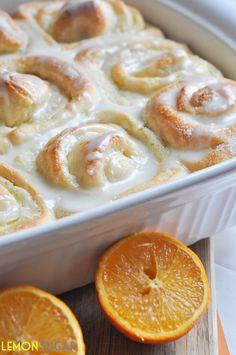 Sweet Orange Rolls - Recipe by Lemon Sugar