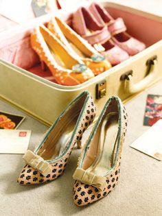 DIY Shoe Refashion Tutorial Using Fabric