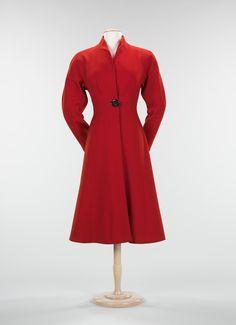 "Charles James ""Lyre"" dress ca. 1945 via The Costume Institute of the Metropolitan Museum of Art"
