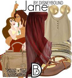 Disney Bound - Jane