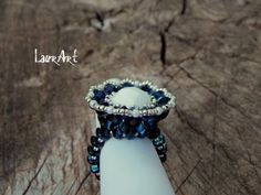 ▶ Tutorial: Anello Barocco/Baroque ring (superduo/twin beads) - YouTube