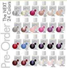 Gelish. Gel nail polish that goes on like polish and acts like gel!