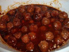 Sweet BBQ Meatballs Recipe - Food.com - 355770