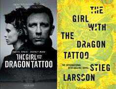 The Girl with the Dragon Tattoo is a crazy story both on paper and on the big screen.  Check them out!