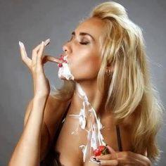 La crème fouettée j'adore