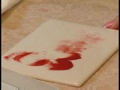 How to Paint Porcelain : Common Porcelain Painting Techniques