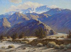 Paul Grimm (1891-1974) Nature's Power oil on canvas 30 X 40 in.