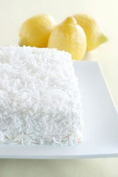Gluten-free and Dairy-free Lemon Coconut Cake with Heavenly Dairy-free Cream Cheese Frosting