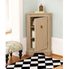 Miranda Corner Cabinet   Ballard Designs