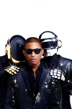 Daft punk Χ Pharrell Williams