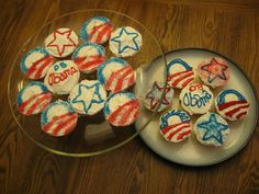 Cupcakes from '08 Election Day