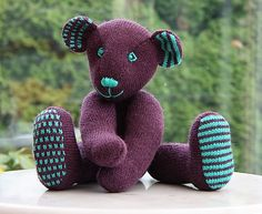 Ravelry: Ours Bleu pattern by Phildar Design Team