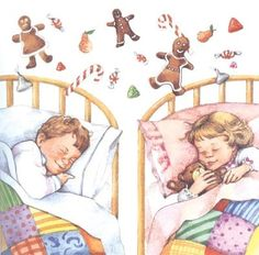 Visions of sugar plums, Good night pinners