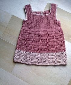 Crochet Confetti dress, http://crochetjewel.com/?p=10779