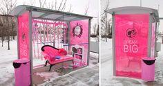 Barbie Bus Stop