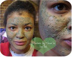 DIY Bentonite Clay, Green Tea & Argan Oil Mud Face Mask