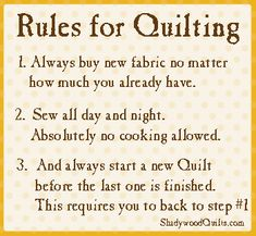 The Rules for Quilting