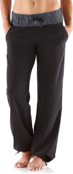 Slip on the stretchy, wind-resistant Sanctuary pants from The North Face to maintain that after-yoga glow.