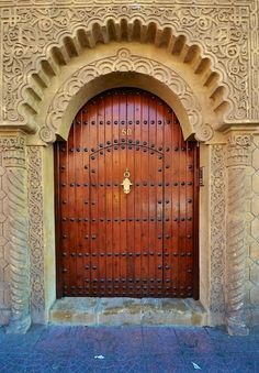 Amazing door. Marrakech, Morocco